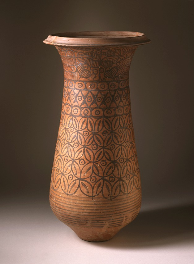 Ceremonial vessel with the Cownose pattern from Harappan © LACMA